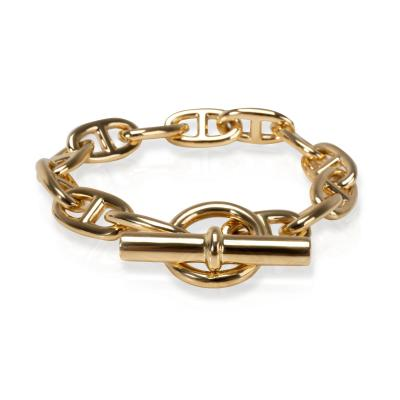 Hermes Chaine D ancre Toggle Bracelet in 18K Yellow Gold