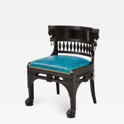 Herter Brothers Herter Brothers ebonized hall chair