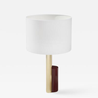 Herv Langlais ABSTRACTION CYLINDRICAL LAMP