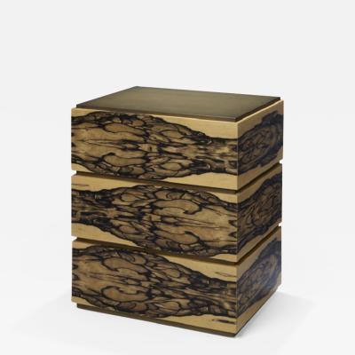 Herv Langlais INK BEDSIDE TABLE