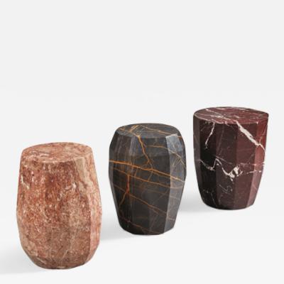 Herv Langlais Meteor Pedestal Tables