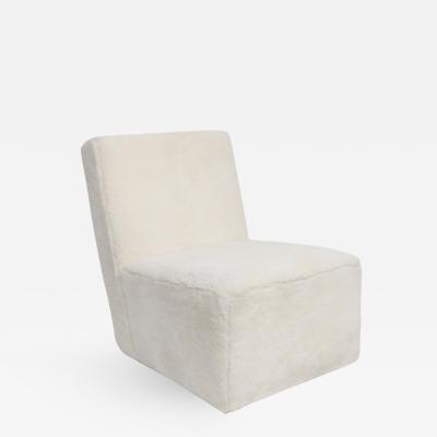 Herv Langlais PETIT FRANK LOUNGE CHAIR SHEEP SKIN