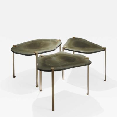 Herv Langlais TURTLE SIDE TABLES