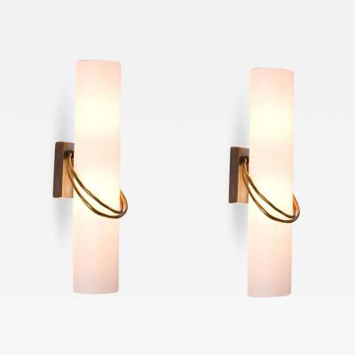 Herv van der Straeten Pair of Wall lights Anneau by Herv Van Der Straeten
