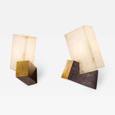 Herv van der Straeten Pair of Wall lights Pirouette by Herv Van Der Straeten