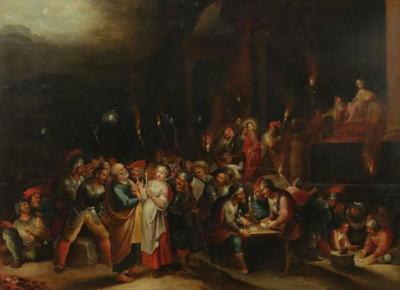 Hieronymous III Francken Hieronymus III Francken 1611 1661 The denial of Peter