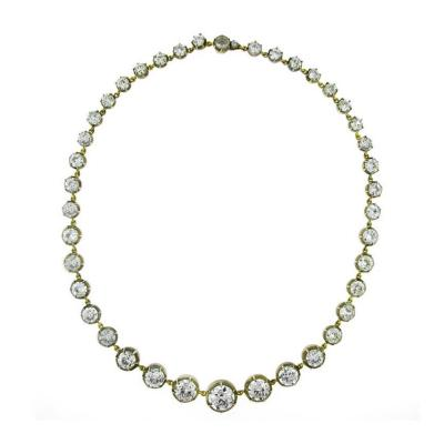 Highly Important Antique Diamond Necklace