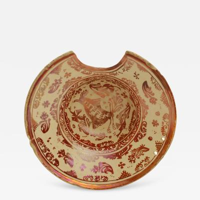 Hispano Moresque Shaving Bowl