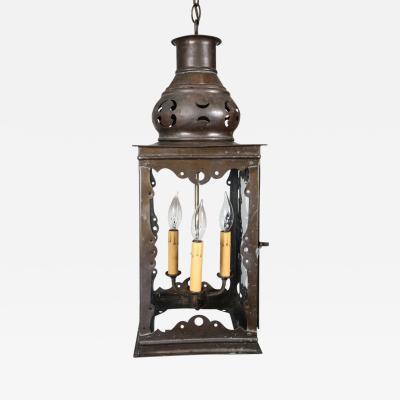 Hispano Moresque Style Hall Lantern