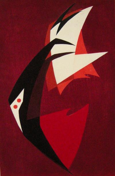 Hodaka Yoshida Sail by Hodaka Yoshida 1951