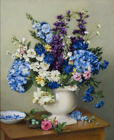 Holly Hope Banks Summer Flowers