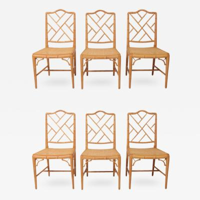 Hollywood Regency Bamboo Chairs