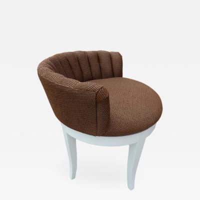 Hollywood Regency Vanity Chair