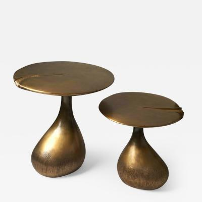 Hoon Moreau LES ENCHANTEES JUMELLES BRONZE Side tables