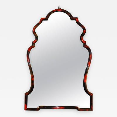 Horn Chippendale Style Mirror