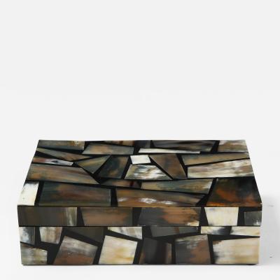Horn Mosaic Keepsake Box