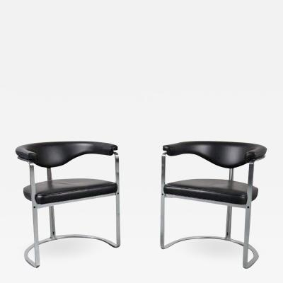 Horst Bruning Pair of Horst Br ning dining chairs for Kill International Germany 1968