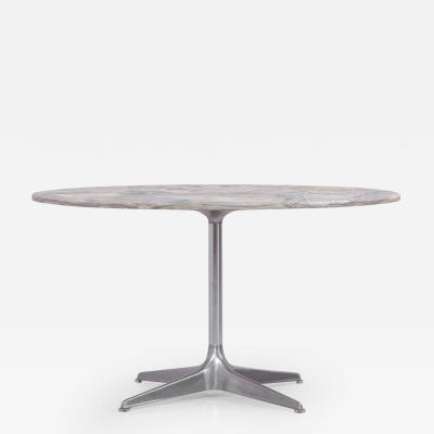 Horst Bruning Round Marble Dining Table by Horst Br ning for Cor