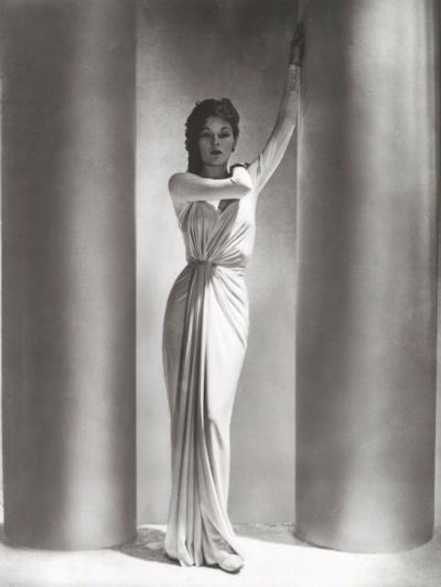 Horst P Horst Alix Dress LUD 1938