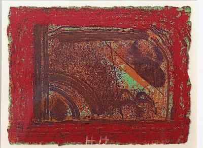 Howard Hodgkin Cardos Bar Red 49 50