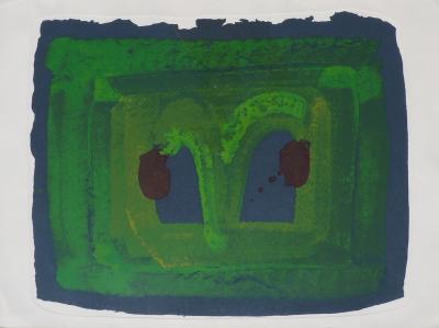 Howard Hodgkin Howard Hodgkin Lotus Silkscreen Print 1980
