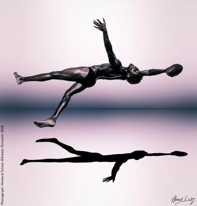 Howard Schatz Shapes of the NFL Preston Williams Wide Receiver Miami Dolphins