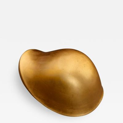 Hozan Zangana Object Kisal in gold leaf by Hozan Zagana
