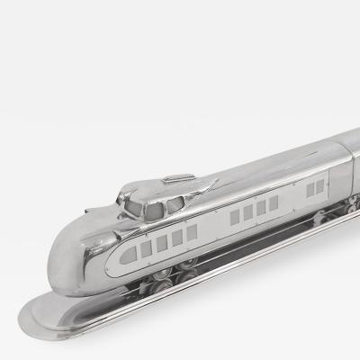 Huge 3 Car 1933 Light Up Aluminum Streamline Train