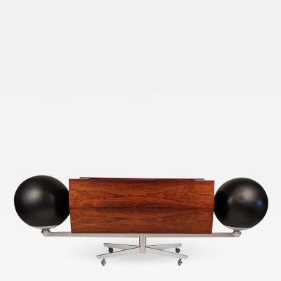 Hugh Spencer Clairtone Project G 1 T4 Rosewood Stereo System First Generation by Hugh Spencer