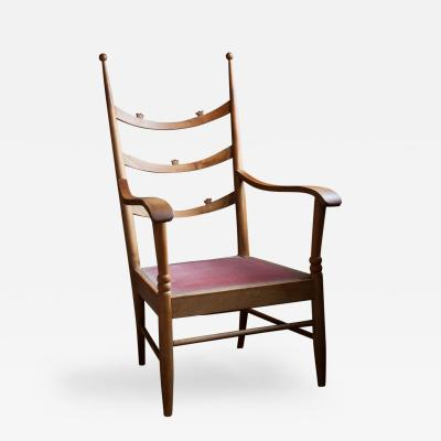 Hugo Gorge A Viennese Maplewood Armchair by Hugo Gorge