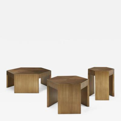 Hugues Chevalier Trio Coffee Tables