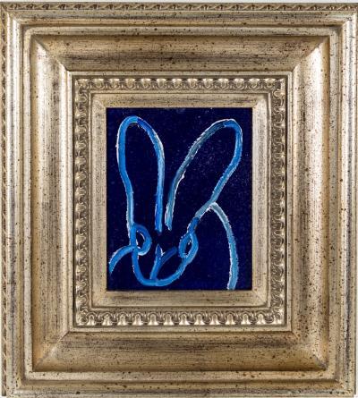 Hunt Slonem Blue Bunny