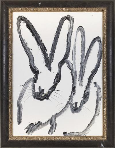 Hunt Slonem Double Bunny EL00482