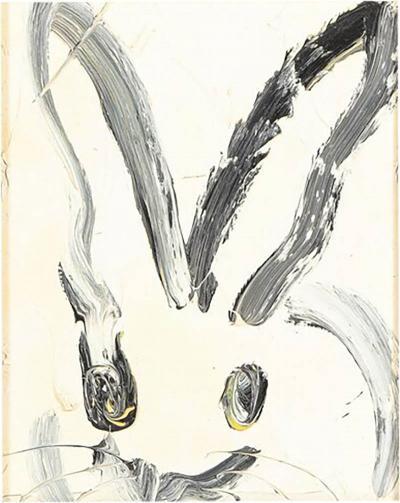 Hunt Slonem Hunt Slonem CHL2457 Bunny Painting 2014
