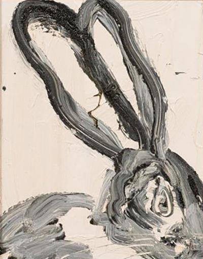 Hunt Slonem Hunt Slonem Untitled Bunny Painting C50142 2012