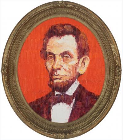 Hunt Slonem Lincoln EA01861