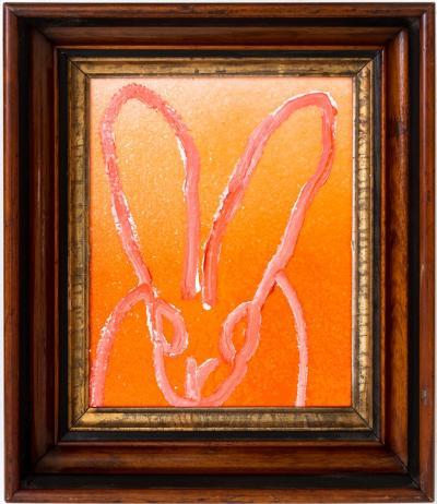 Hunt Slonem Orange Hombre