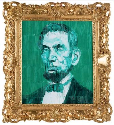 Hunt Slonem Pres Abraham Lincoln