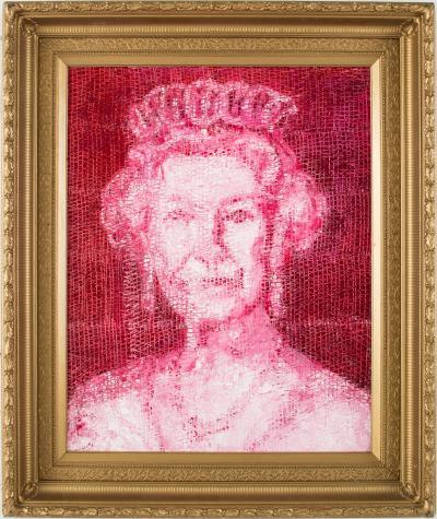 Hunt Slonem Queen Elizabeth