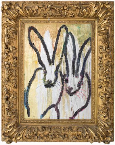 Hunt Slonem Untitled Bunnies CER00534
