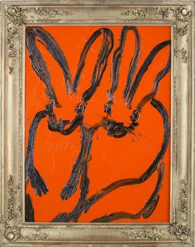Hunt Slonem Untitled Bunnies CRK03167