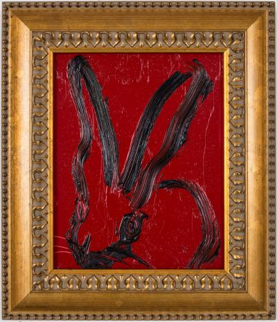Hunt Slonem Untitled Bunny EL00665