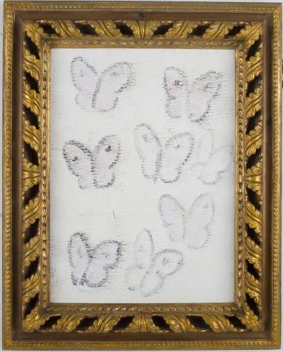 Hunt Slonem Untitled Butterflies