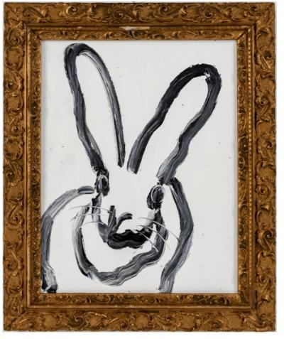 Hunt Slonem White Bunny