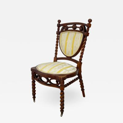 Huntzinger Style Side Chair circa 1870