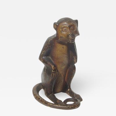 Hurley Monkey Doorstop 1930
