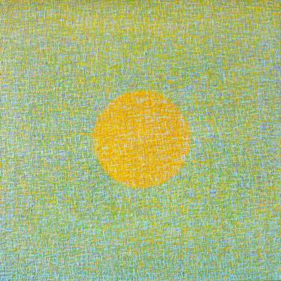 Hyun Ae Kang Abstract painting by Korean American artist Hyun Ae Kang High Noon 2