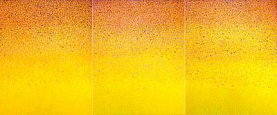 Hyun Ae Kang Monumental abstract triptych painting by Hyun Ae Kang Words Triology