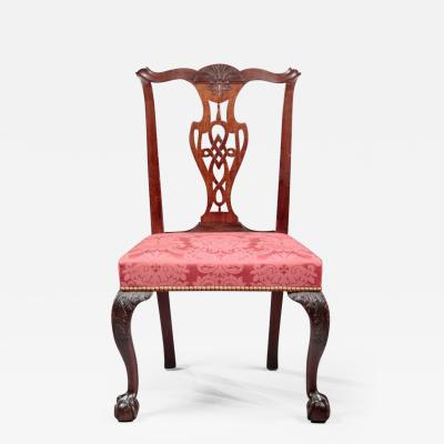 IMPORTANT CHIPPENDALE SIDE CHAIR