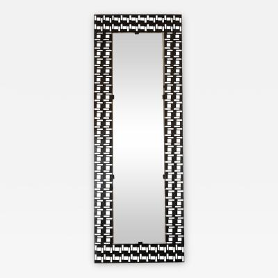 IRON OPENWORK SURROUND MIRROR